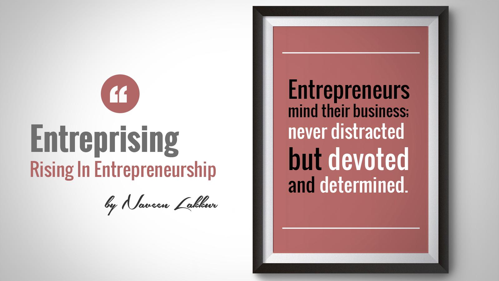 Determined Entrepreneurs