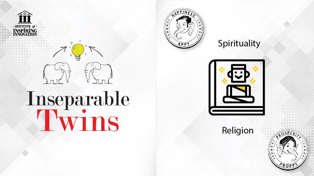SpiritualityReligionInseparableTwins