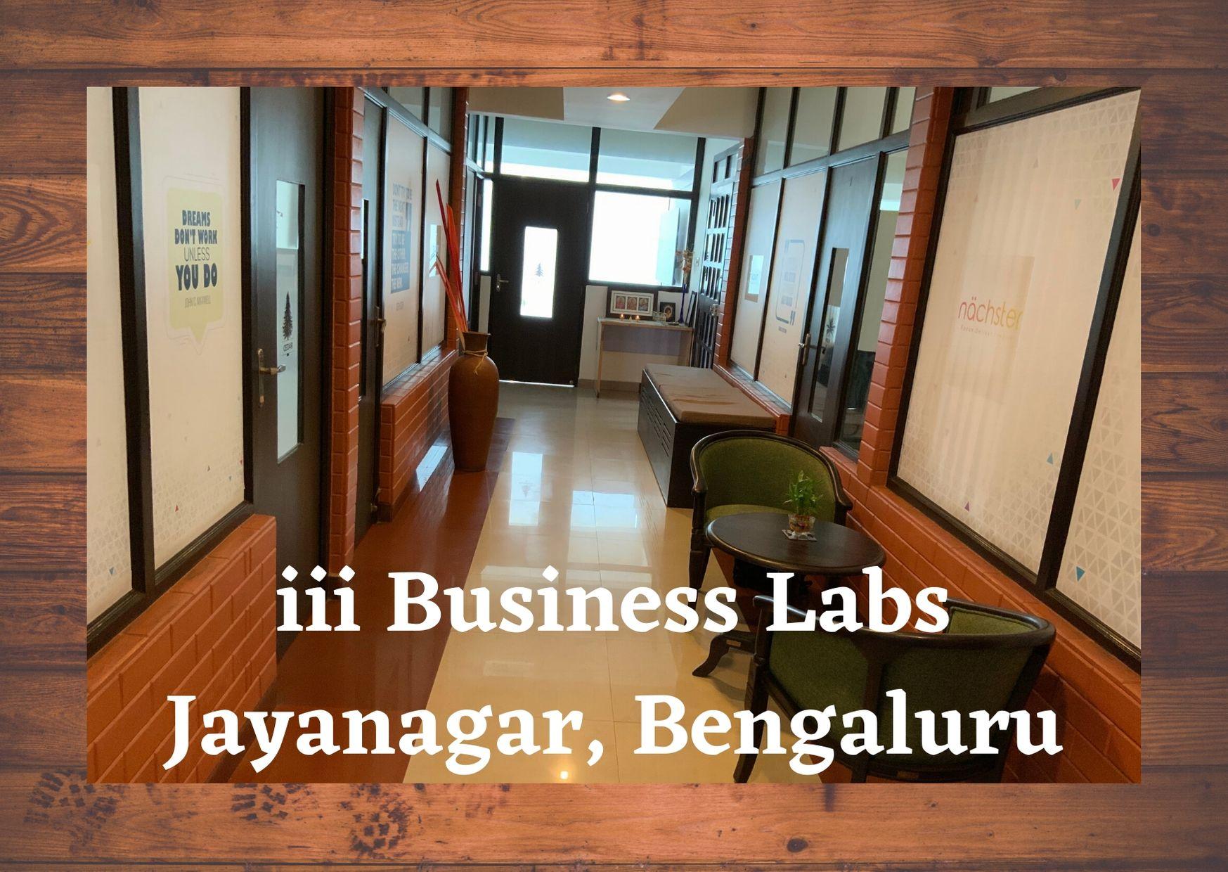 iii business labs jayanagar