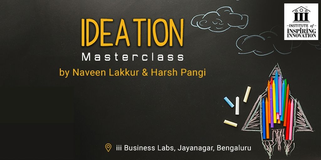 ideation masterclass overview