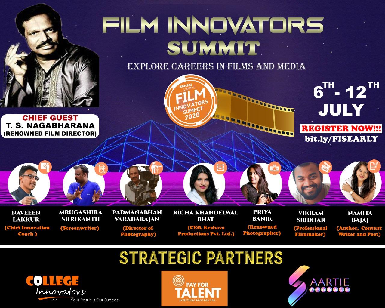 Creativity & Technology to Power Film Innovators