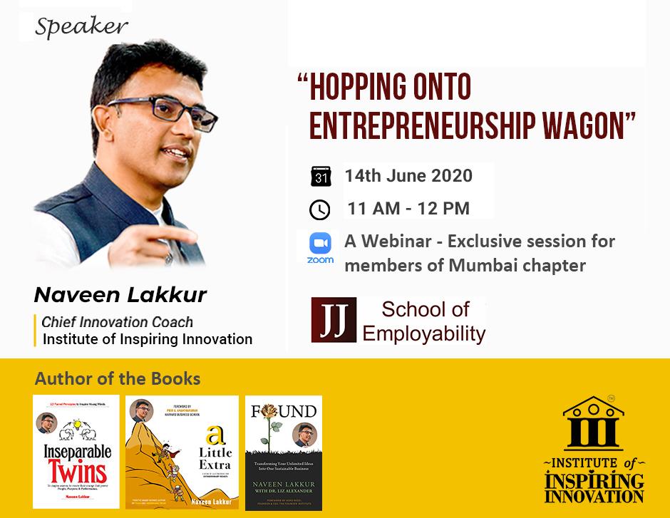Hopping entrepreneurship wagon June 25 2020V3jpg