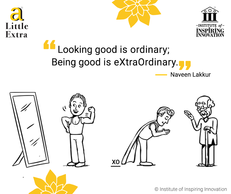 being good is extraordinary