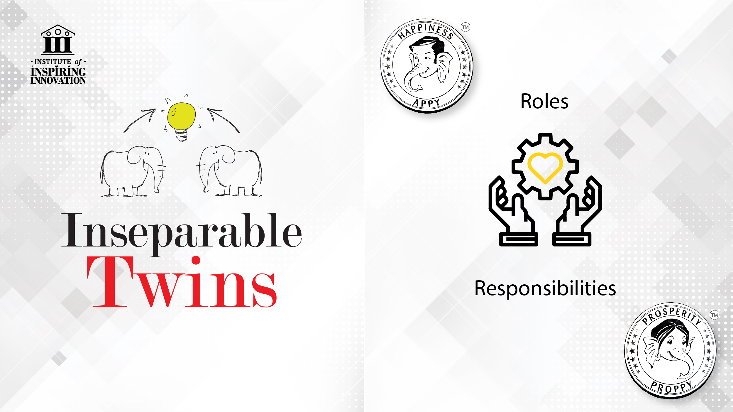 Roles & Responsibilities as Inseparable Twins by Naveen Lakkur