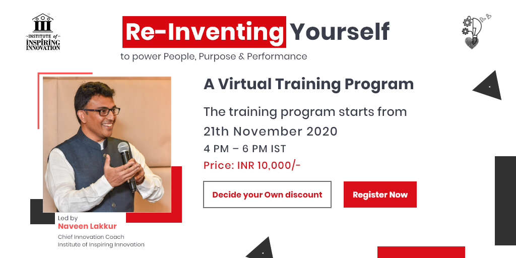 Reinventing Yourself to power People, Purpose & Performance