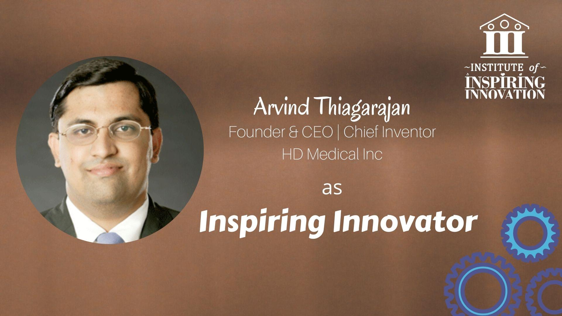 Inspiring Innovators - Arvind T_25.01.2021